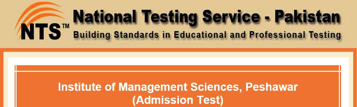 Institute Of Management Sciences Peshawar NTS Test Result 2015