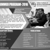 IBA Sukkur Summer Programs 2019 Admission Form Download Online