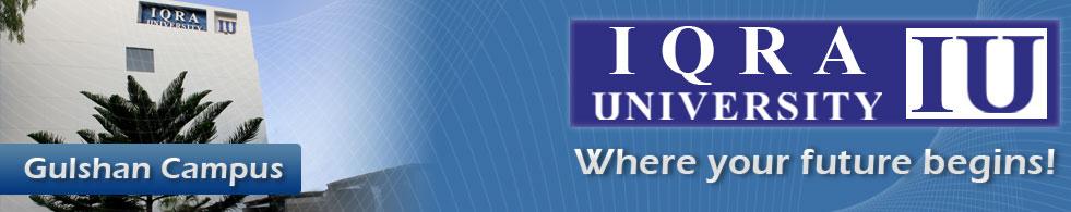 Iqra University Karachi Entry Test Result 2018 BS, MS, PhD