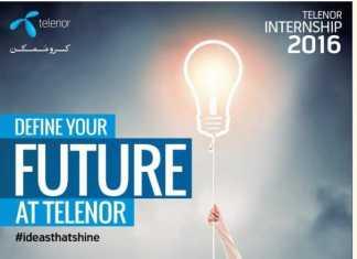 Telenor Pakistan Summer Internship Program 2016