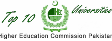 HEC Top 10 Universities Of Pakistan 2017 Ranking