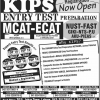 KIPS Entry Test Classes 2017 Fee Structure