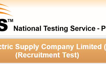 LESCO WAPDA Lahore NTS Test Date 2016 Roll No Slips Download
