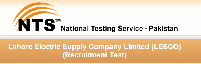 LESCO WAPDA Lahore NTS Test Date 2015 Roll No Slips Download
