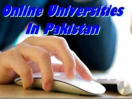 Online Universities In Pakistan