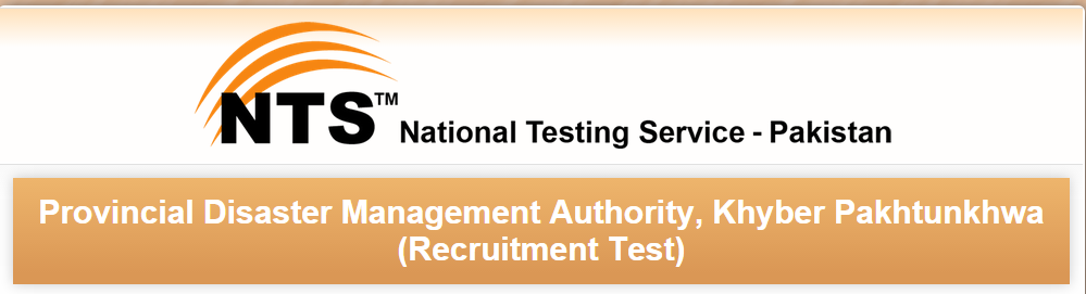 Provincial Disaster Management Authority PDMA KPK NTS Test Result 2015 Answer Keys