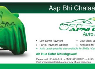 Bank Al Habib Apni Car Auto Loan In Pakistan