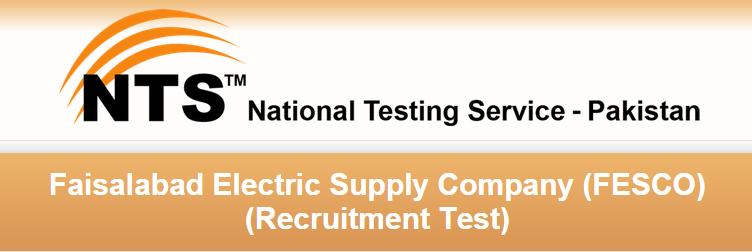 Faisalabad Electric FESCO NTS Test Result 2015 NTS Answer Keys
