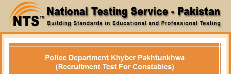 KPK Police Constable Jobs NTS Written Test Result 2015 Check Online