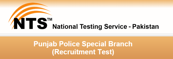 Punjab Police Special Branch Jobs 2015 NTS Application Form Download