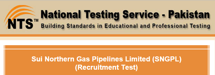 SNGPL NTS Test Result 2015 6th, 7th June Answers Key Online