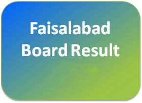 BISE Faisalabad Board 9th, 10th Class Result 2018