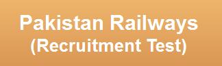 Pakistan Railways Jobs NTS Test Date 2015 Roll No Slips Download