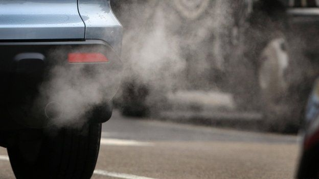 Running of old Vehicles Cause Air Pollution
