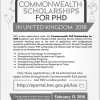 Commonwealth Scholarships UK 2018 Pakistani Students