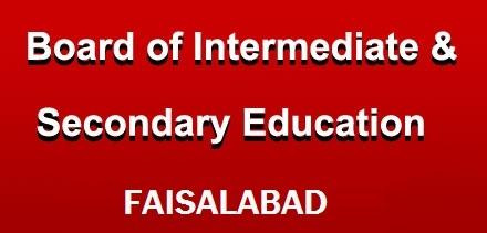 www.bisefsd.edu.pk 9th Class Result 2018 Online by Name