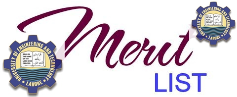 UET Lahore 1st Merit List 2018