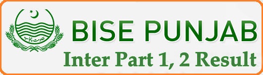 Punjab Boards Intermediate Part 1 and 2 Supplementary Results 2018