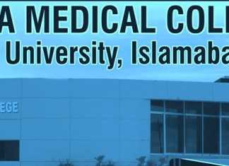 Fazaia Medical College Islamabad MBBS Merit List 2019 1st, 2nd, 3rd