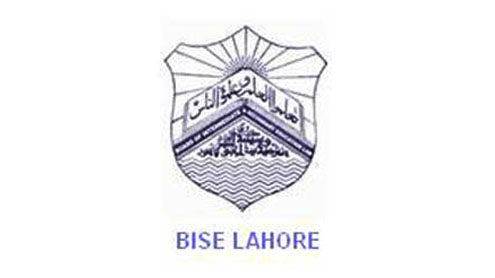 BISE Lahore Board Matric 10th Class Date Sheets 2018