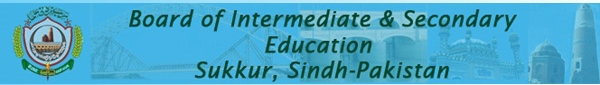 BISE Sukkur Board SSC 9th, 10th Class Date Sheet 2017