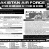 Female Join PAF Commission In 117 Non GD Course 2015-16 Online Registration Form