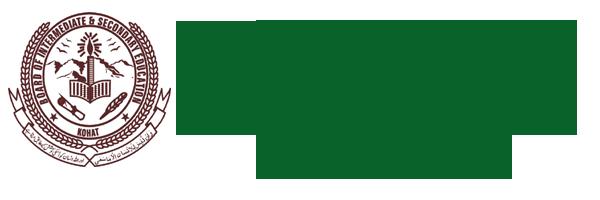 BISE Kohat Board Model Papers 2019 Inter HSSC Part 1, 2 Download