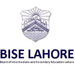 BISE Lahore Board Inter Part 1, 2 FA, FSC Date Sheet 2017