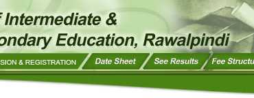 BISE Rawalpindi Board Date Sheet 9th Class 2017
