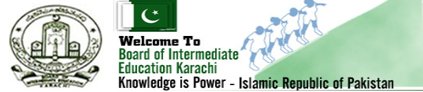 BIEK Karachi Board Inter Part 1, 2 Date Sheet 2017