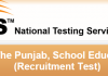 NTS Punjab Educators Jobs 2016 District Wise Seats Allocation ESE, SESE, SSE, AEO