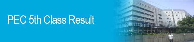 PEC Federal Board 8th, 5th Class Result 2018