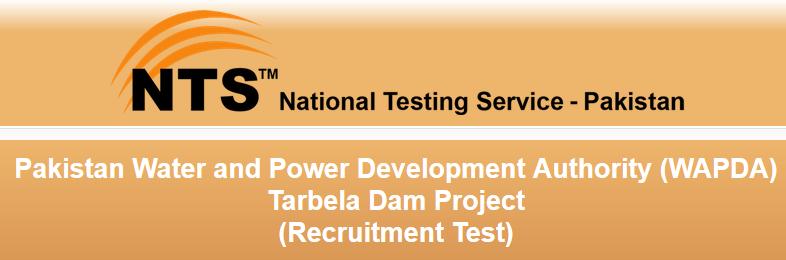 WAPDA Tarbela Dam Project Jobs NTS Test Result 2016 Answer Keys Online