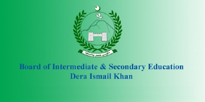 DI Khan Board Inter Date Sheet 2020 1st Year, 2nd Year