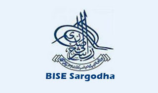 BISE Sargodha Board Inter Part 1, 2 Date Sheet 2018