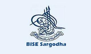 BISE Sargodha Board Inter Part 1, 2 Date Sheet 2018
