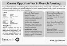 Faysal Bank Jobs 2016 Karachi, Lahore, Islamabad, Peshawar Apply Online