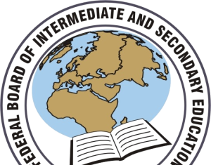 Federal Board Intermediate Roll Number Slip 2020 1st Year, 2nd Year