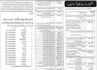 Health Department District Chakwal Jobs 2016 Application Form, Last Date