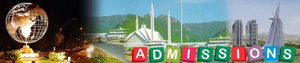 Islamabad Admissions