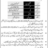 Orakzai Agency Jobs 2016 Levies Force PTS Jobs Application Form Download