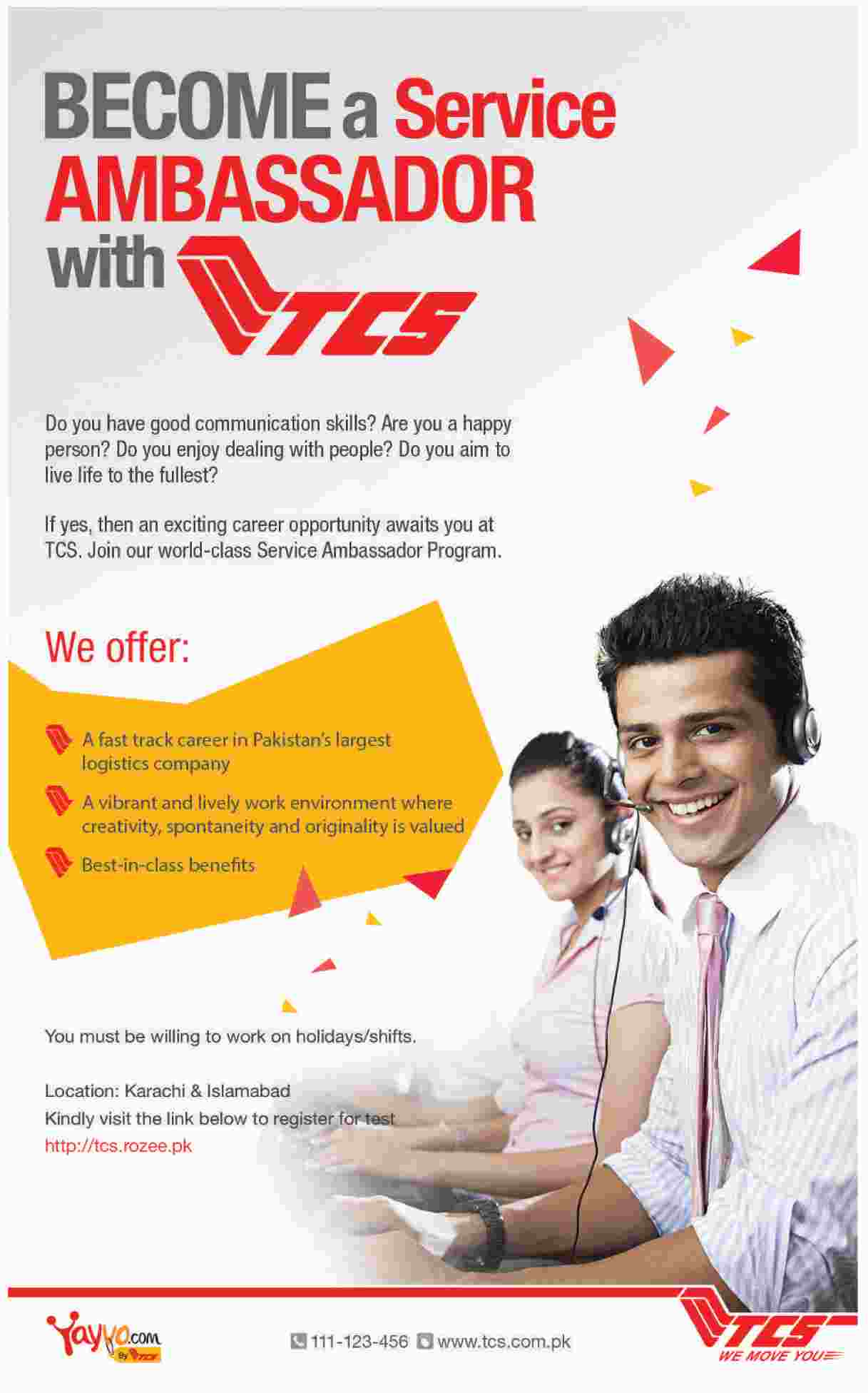 TCS Pakistan Jobs 2016 Apply Online Karachi, Islamabad, Lahore