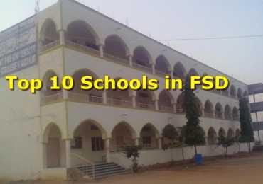 Top 10 Schools In Faisalabad Private/ Regular