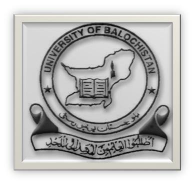 University Of Balochistan UOB B.Com Roll Number Slip 2019 Online
