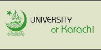 University Of Karachi UOK MA Registration 2016-15 Form Fee Schedule