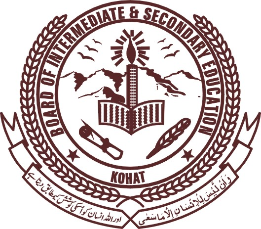 BISE Kohat Board Matric 9th, 10th Supply Exams 2017 Form Fee Schedule