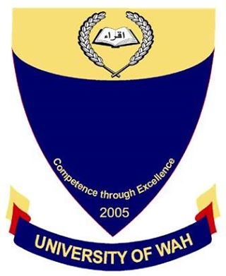 University of Wah Admission 2017 Form, Eligibility Criteria, Requirements