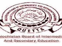 Balochistan Quetta Board Matric Result 2019