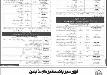 OPF Schools And Colleges Islamabad Jobs 2016 PTS Application Form, Test Date