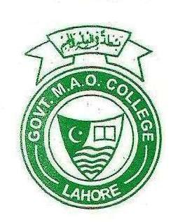 Govt MAO College Lahore BSc Admissions 2018